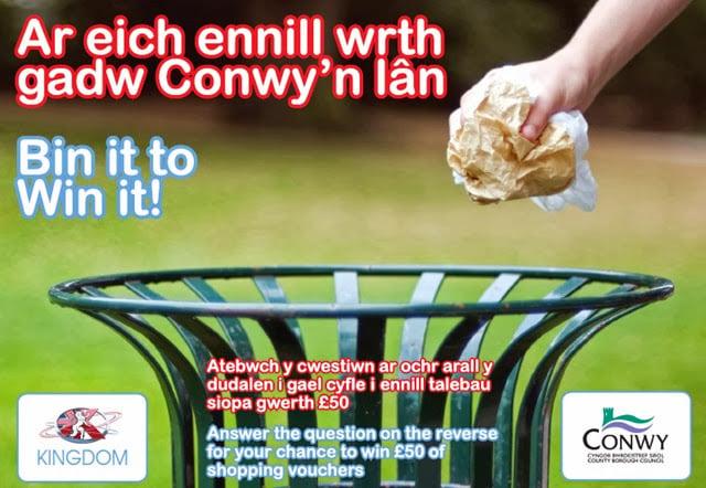 Bin It To Win It Conwy