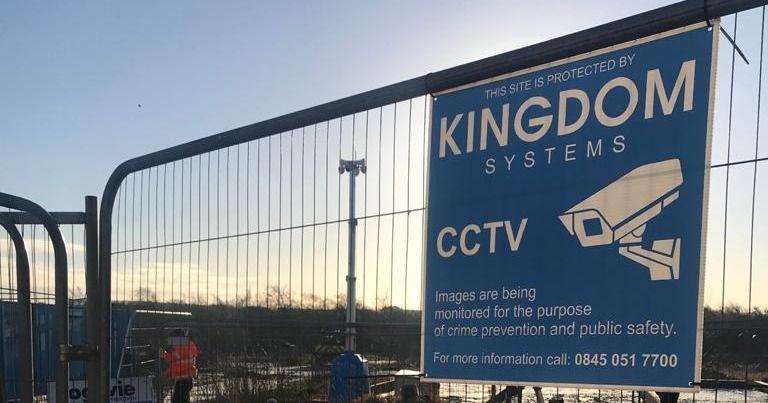 kingdom cctv solar power
